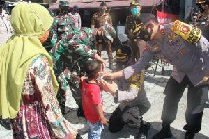 Operasi Yustisi Penerapan Protokol Kesehatan di Gorontalo