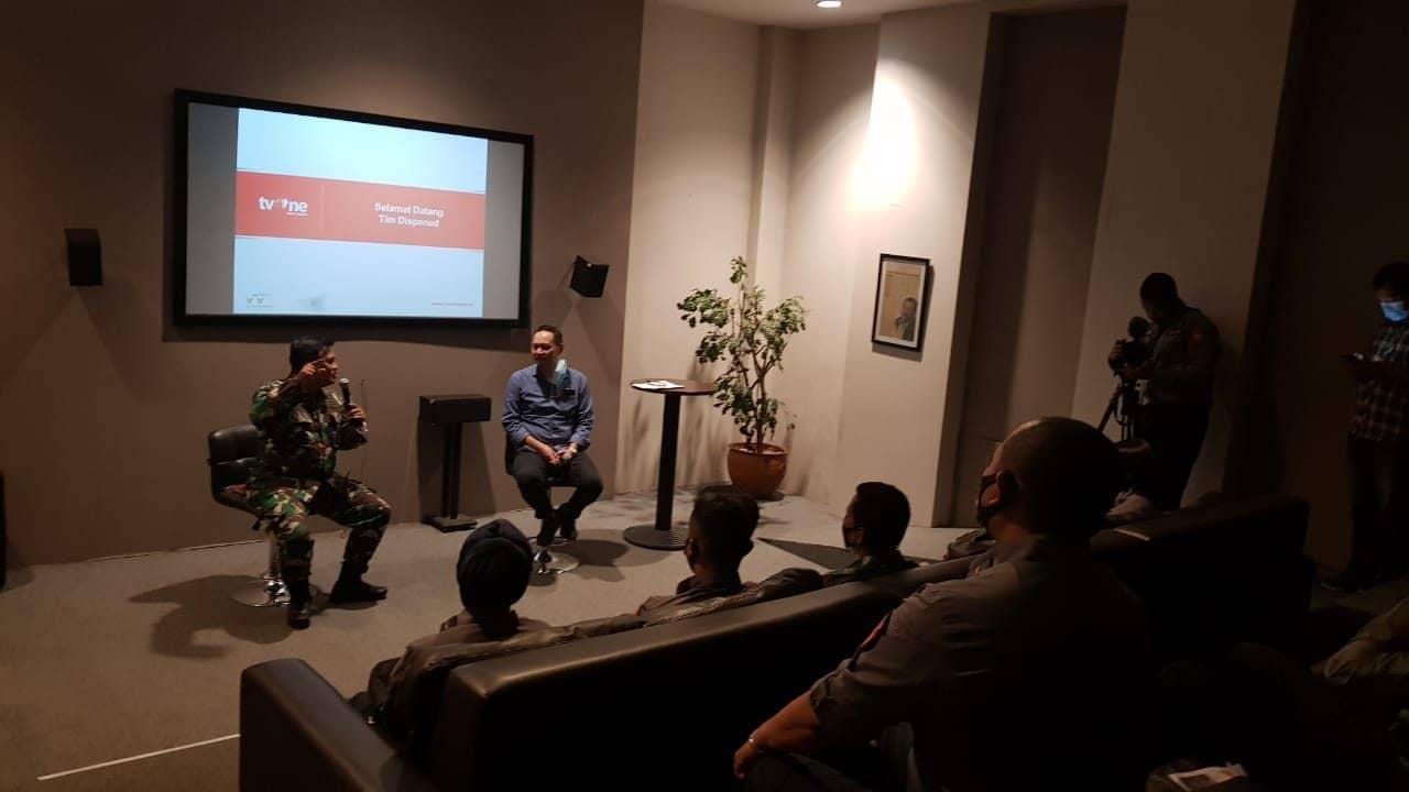 Menjalin Sinergi Melalui Pelatihan TV One dan Dispenad