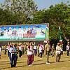 Bersinergi Untuk Negeri, TNI-Polri di NTB Gelar Bakti Sosial dan Olahraga Bersama