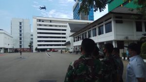 Dispenad Gandeng Puspotdirga TNI AU Gelar Pelatihan Drone