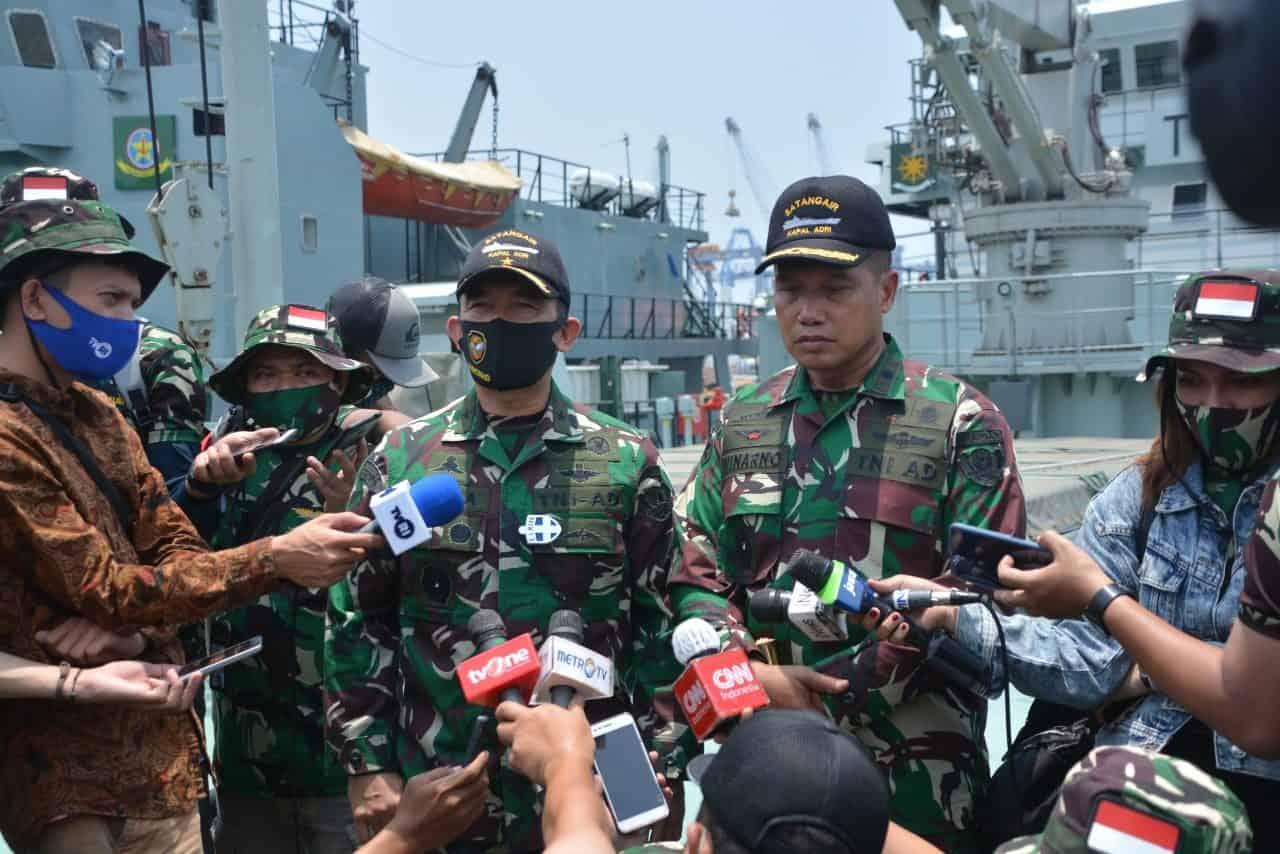Dispenad Gandeng Awak Media Press Tour Ke Satuan Angkutan Air Pusbekangad