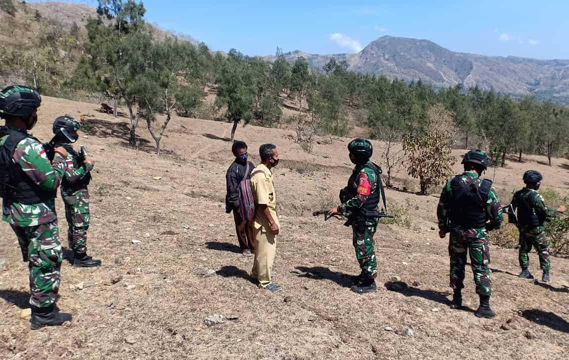 Satgas Yonarmed 3/105 Tarik Laksanakan Patroli Unsurveyed Segment Wilayah Numfo