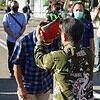 Berkunjung ke Kabupaten Sumbawa, Pangdam IX/Udy Disambut Tarian Sumbawa
