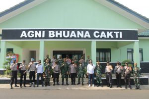 HUT ke-75 TNI, Yon Arhanud 10/ABC Terima Kado Istimewa Dari Polsek Pesanggrahan