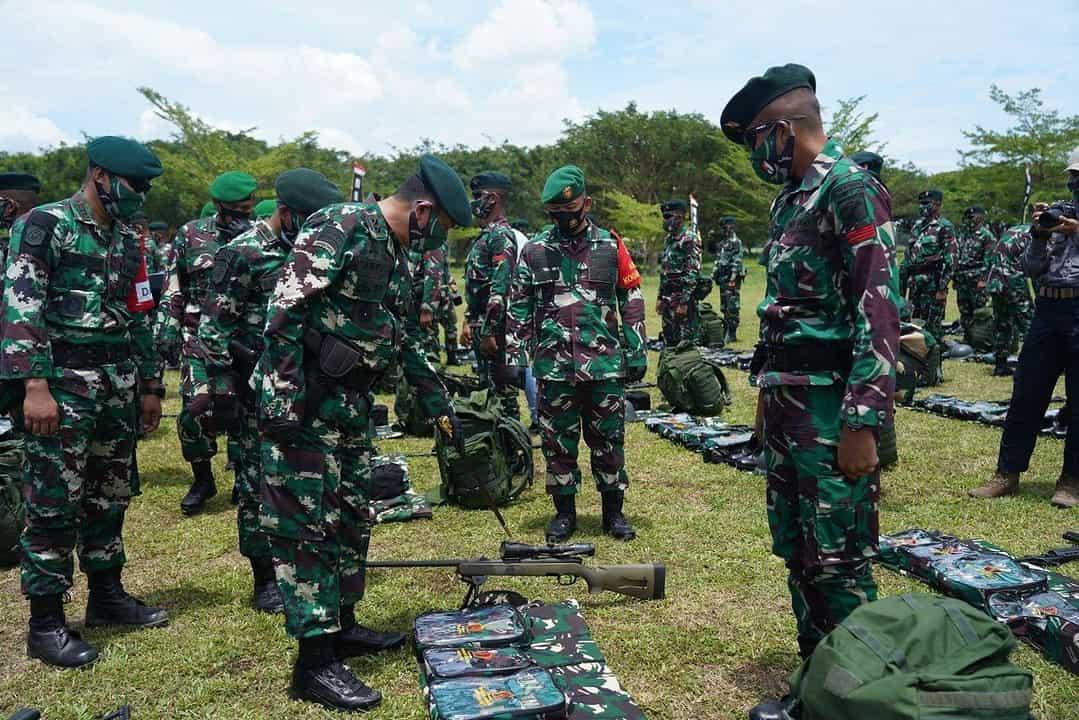 Hendak Bertugas ke Papua, Pangdam XIII/Mdk Cek Kesiapan Operasi Yonif R 715/Motuliato