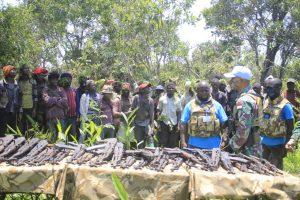 Satgas Indo RDB XXXIX-B MONUSCO Kembali Turunkan 43 Milisi dan 32 Senjata