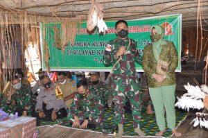 Danrem 174 Merauke Gelar Baksos di Kabupaten Asmat