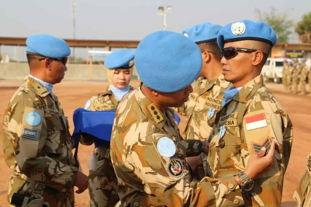 Medal Parade, Penghargaan dan Kenaikan Pangkat Personel Indo RDB XXXIX-B MONUSCO Kongo