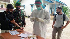 Kabur Dari Malaysia, PMI Ilegal Diamankan Satgas Pamtas Yonif 407/PK