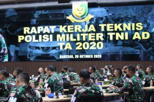 Danpuspomad : Proses Hukum Bagi Oknum Prajurit TNI AD Yang Terlibat Politik Praktis