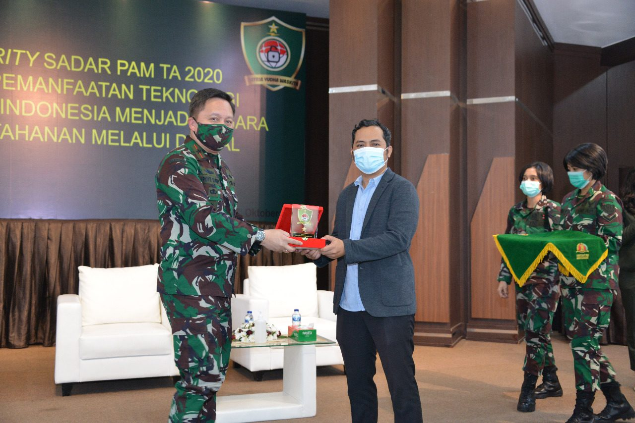 Pussansiad Gelar Seminar IT Security Sadar Pengamanan