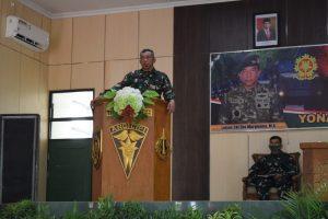 Sambangi Yonarmed 12/Divif 2 Kostrad, Pangkostrad Luncurkan Aplikasi READY