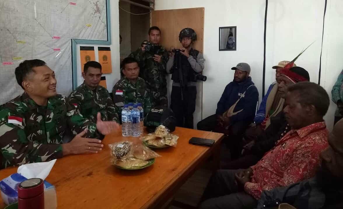 Kunjungi Distrik Mbua, Danrem 172 Beri Support Kepada Prajuritnya