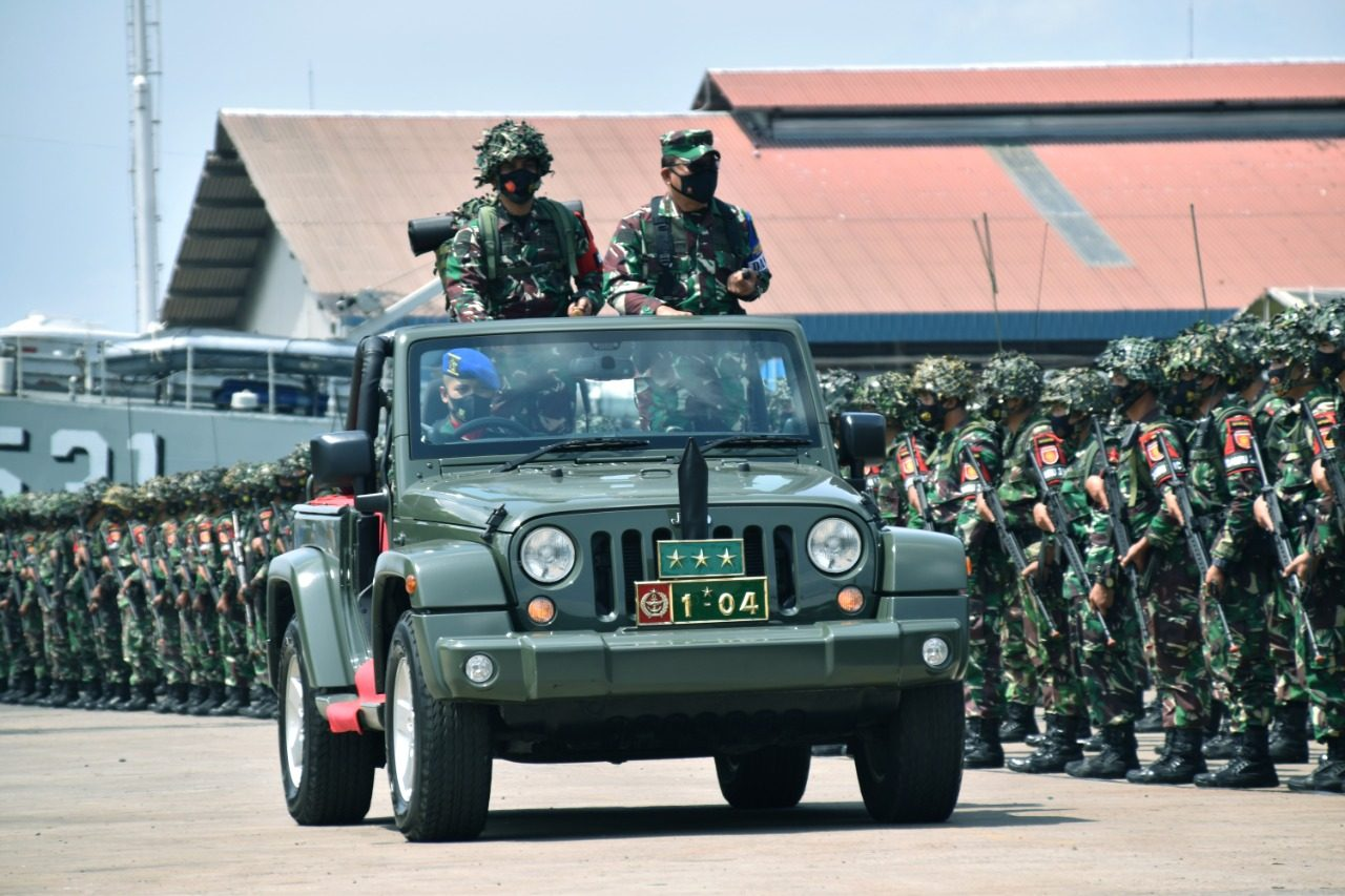 Tiba di Sumatera, Satgasrat Brigif R-9/DY/2/Kostrad Siap Tempur