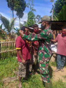 Sosialisasi Protokol Kesehatan Covid-19 Dilakukan dengan Humanis di Perbatasan RI-PNG