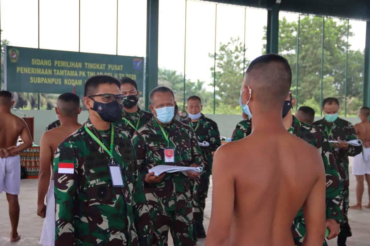Pangdam XII/Tpr : Sidang Panlih Cata PK, Siapkan Komponen Pertahanan TNI AD Hadapi Perkembangan Situasi Global