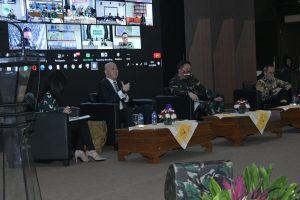 Asrena Kasad Buka FGD Grand Design Sistem Informasi TNI AD TA 2020