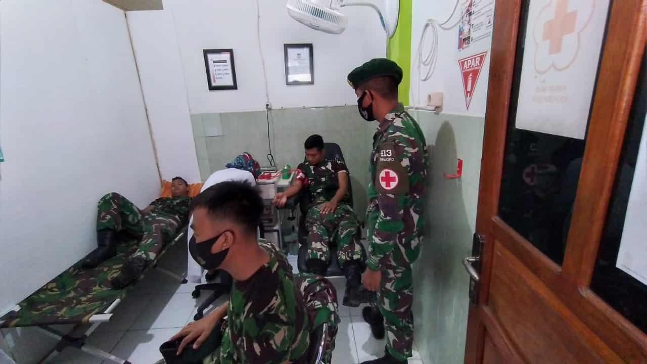 Darah Prajurit Satgas Yonif MR 413 Kostrad Rela Diberikan Kepada Masyarakat Papua, Ini Alasannya
