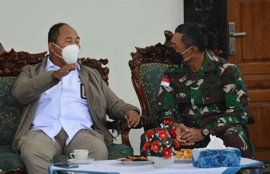 Danrem 172/PWY Sambut Kunker Menko PMK di Provinsi Papua