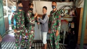Satgas Pamtas Yonif 407/PK Kembali Terima Senjata Rakitan Dari Warga Perbatasan Secara Sukarela