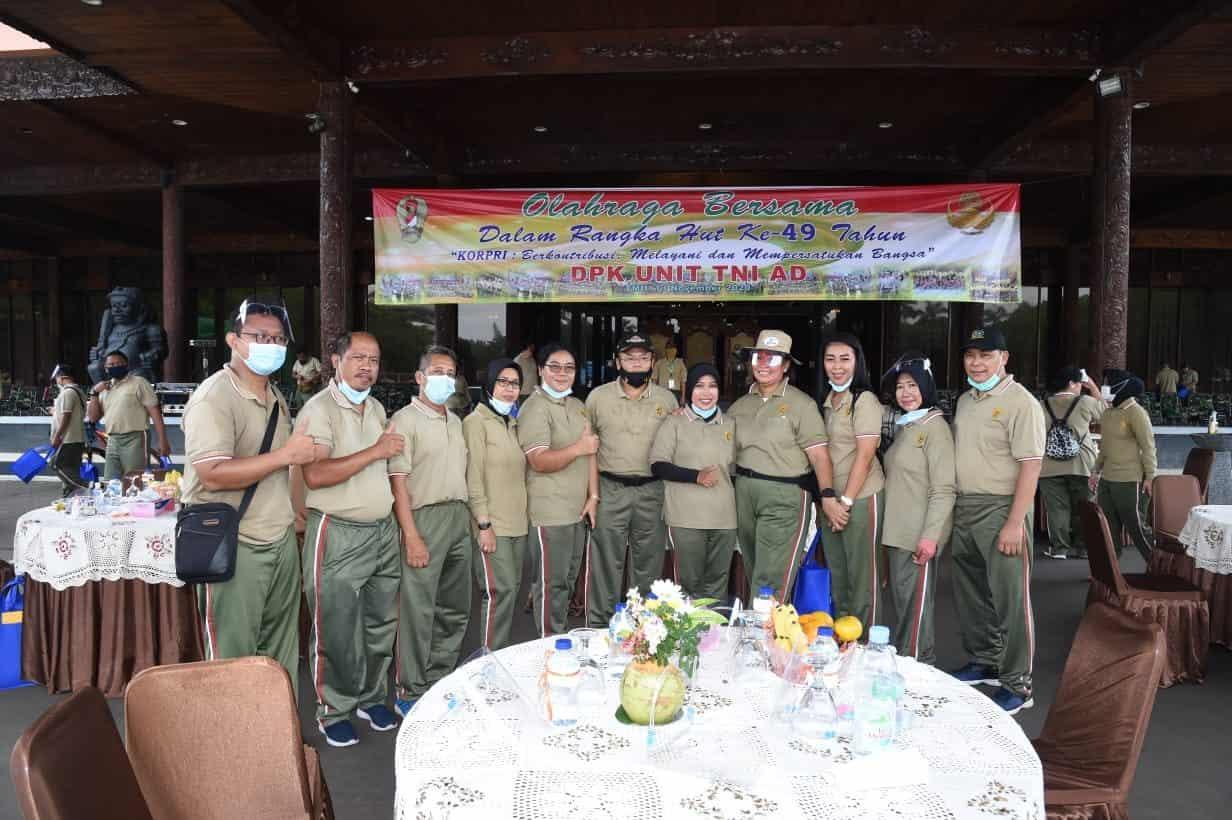 Olahraga Bersama HUT Korpri ke-49 Tingkatkan Imunitas Tubuh