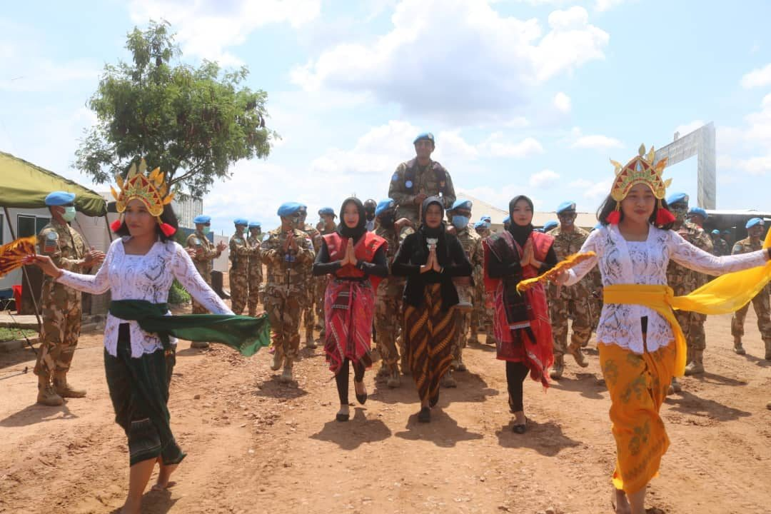 Komandan Sektor Selatan MONUSCO Apresiasi Kinerja Satgas TNI Konga XXXIX-B RDB/MONUSCO