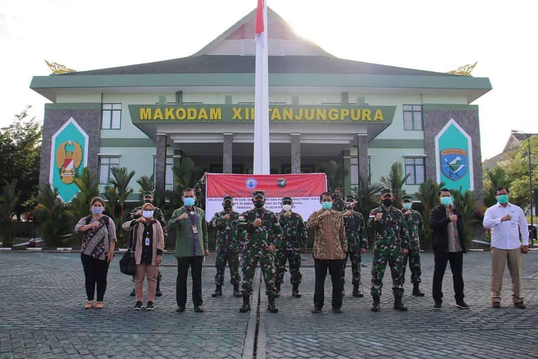 Kodam XII/Tpr Dukung Penuh BNPP Identifikasi Pilar Batas Negara