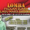 Danrem 174 Merauke Ajak Masyarakat Papua Sambut Bulan Penuh Kasih Melalui Lomba Lagu Mars Babinsa