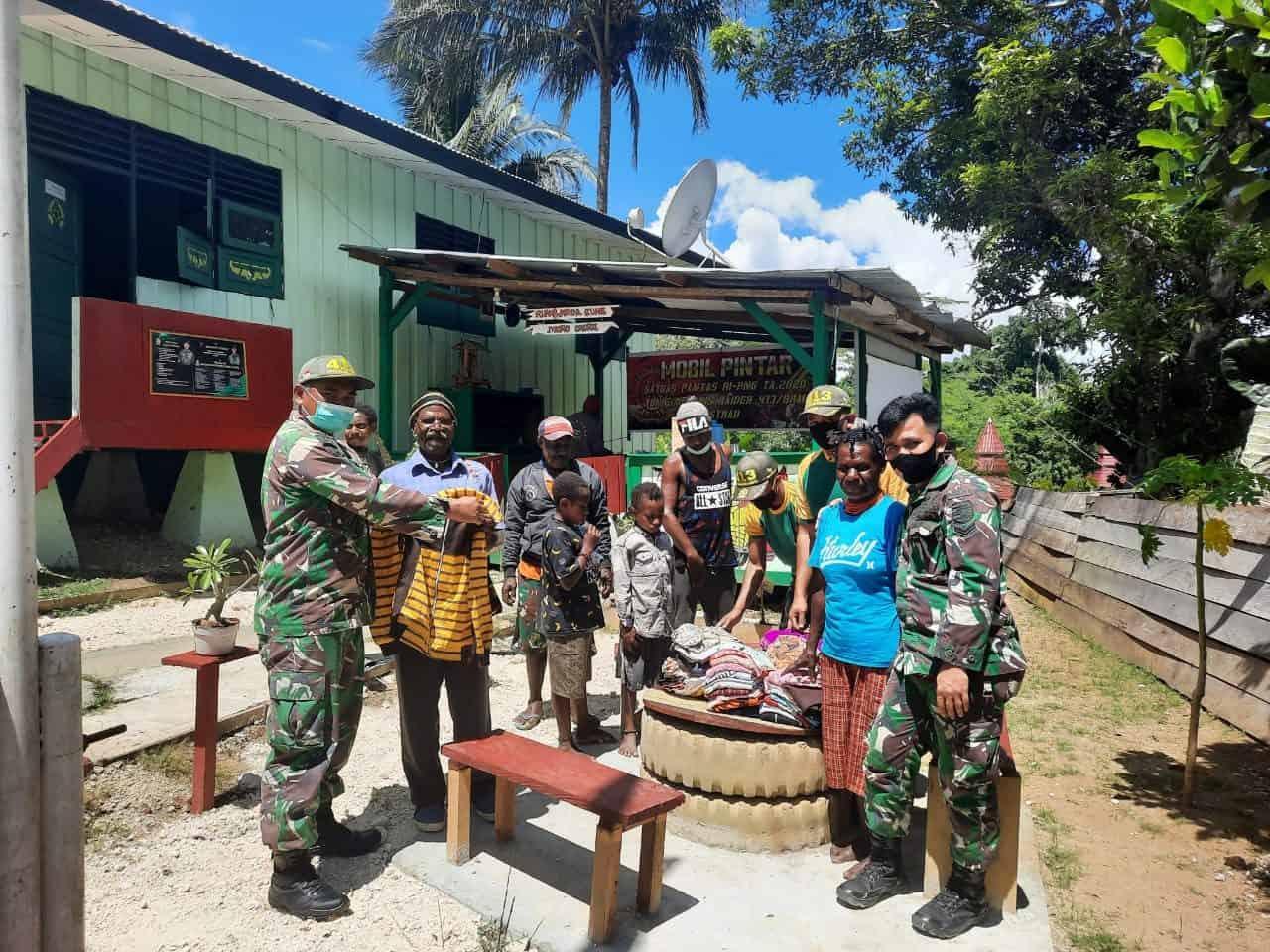 Gelar Komunikasi Sosial Kreatif, Satgas Yonif MR 413 Kostrad Optimis Warga Papua Sukses Terampil