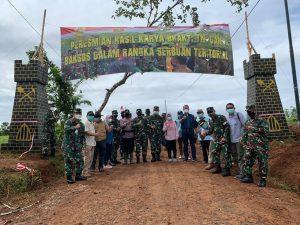Aster Kasad Resmikan Hasil Karya Bakti TNI AD di Kabupaten Bogor