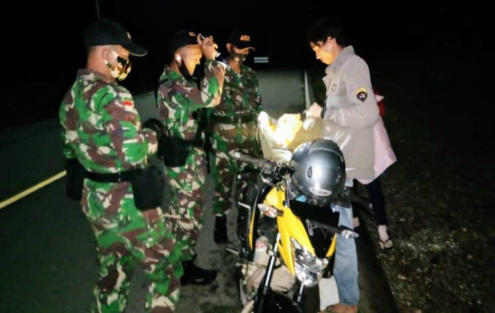34 Liter Miras Diamankan Satgas Yonif 407/PK Saat Sweeping di Perbatasan RI-Malaysia