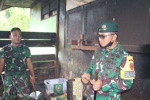 Kunjungi Prajuritnya di Perbatasan RI-PNG, Ini Pesan Danbrigif MR 6/TSB Kepada Prajurit Bremoro