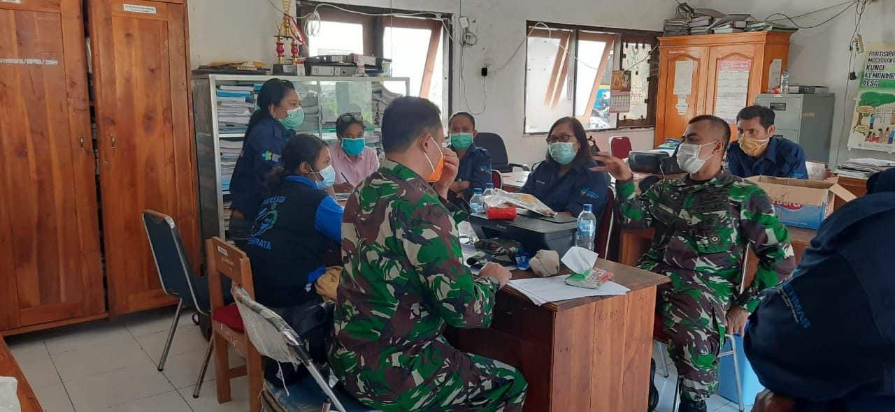Upaya Penanganan Erupsi Gunung Ile Lewotolok, Ini Yang Dilakukan TNI