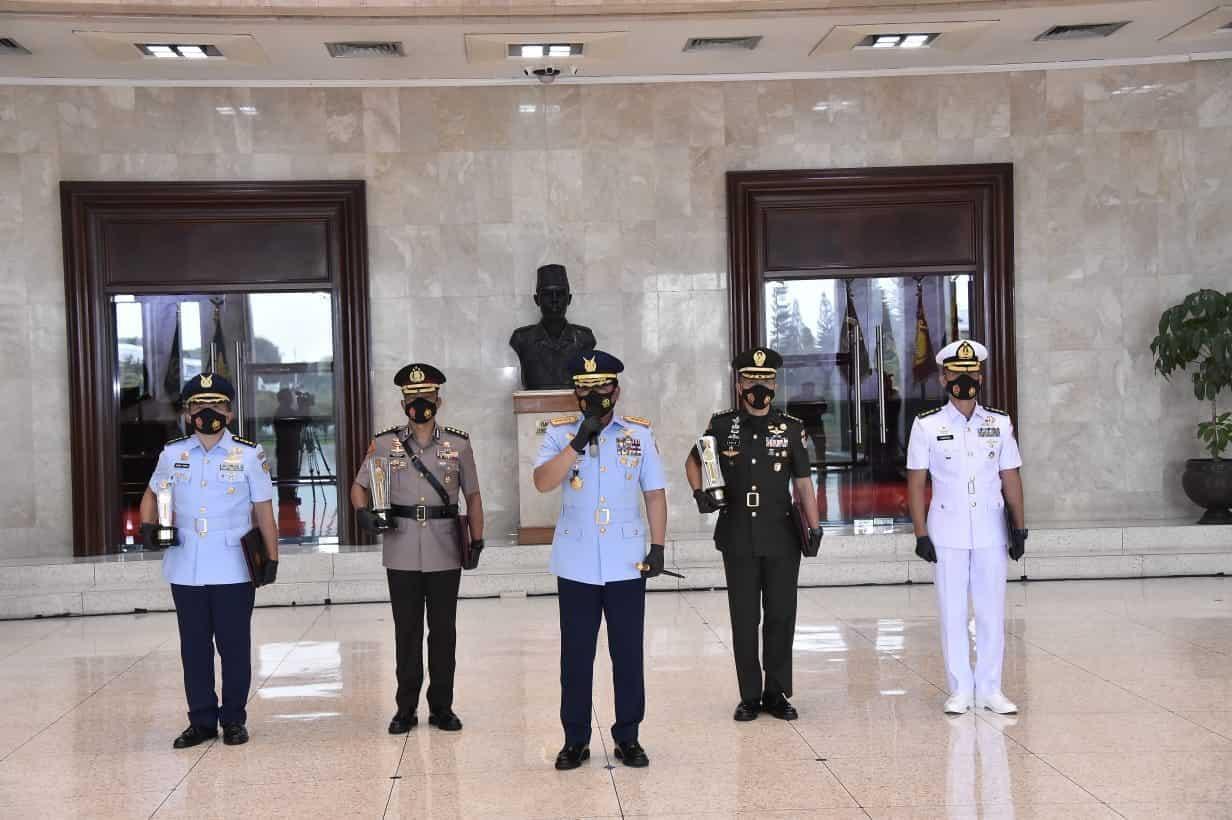 Panglima TNI Tutup Pendidikan Reguler Sesko TNI Angkatan 47 Tahun 2020