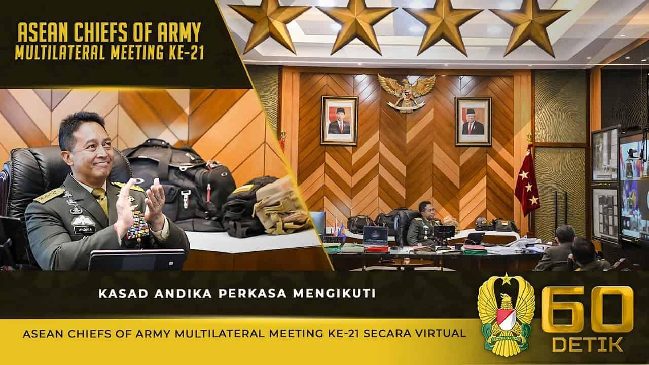 Kasad Jenderal TNI Andika Perkasa Mengikuti 21ST ACAMM