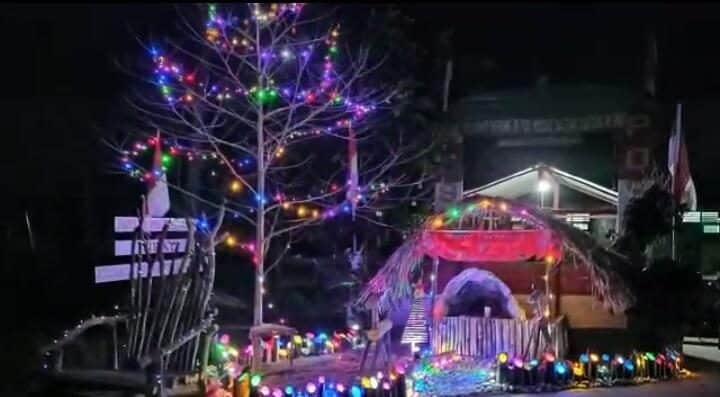Rayakan Natal, Danrem 172/PWY Ajak Masyarakat Berkreasi Membuat Pohon Natal