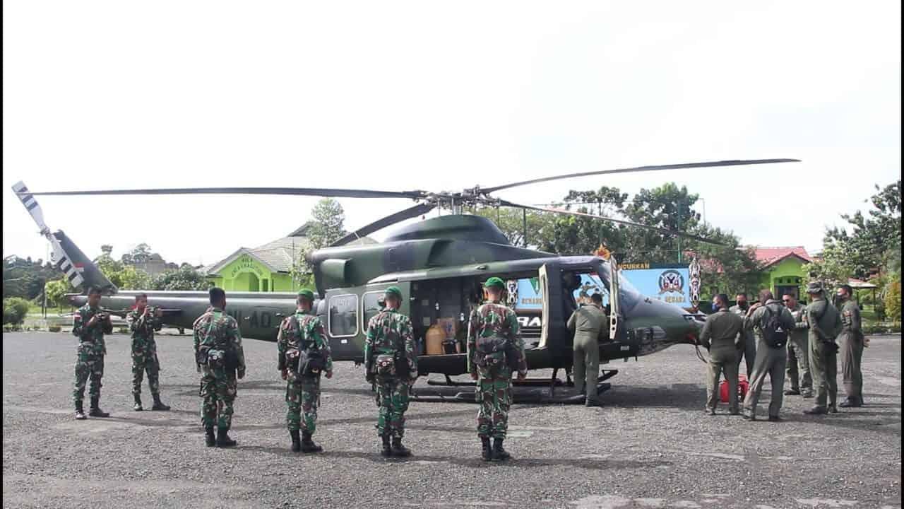 Personel Satgas Pamtas Yonif 614/RJP Serpas Menuju Daerah Perbatasan RI – Malaysia