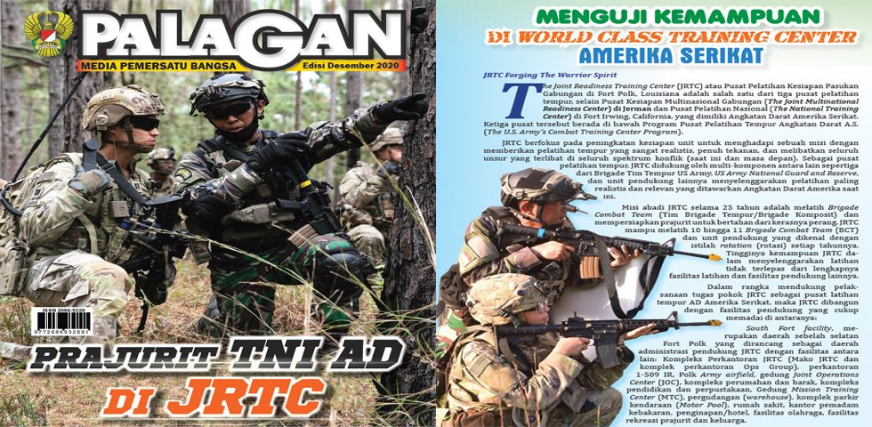 Prajurit TNI AD di JRTC