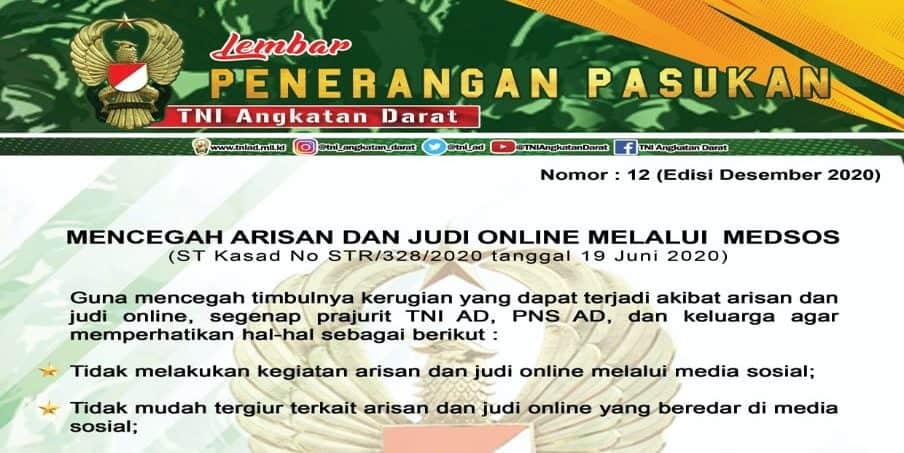 Mencegah Arisan dan Judi Online Melalui Medsos