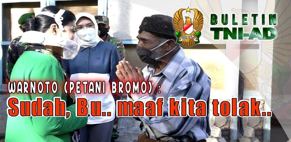 Warnoto (Petani Bromo) Sudah Bu… Maaf Kami Tolak | BULETIN TNI AD
