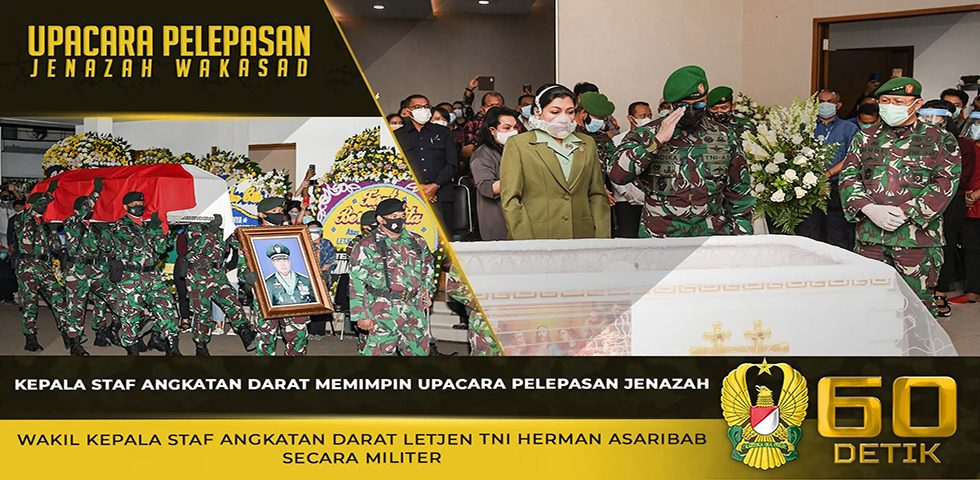 TNI AD Berduka, Wakil Kepala Staf Angkatan Darat Letjen TNI Herman Asaribab Meninggal Dunia