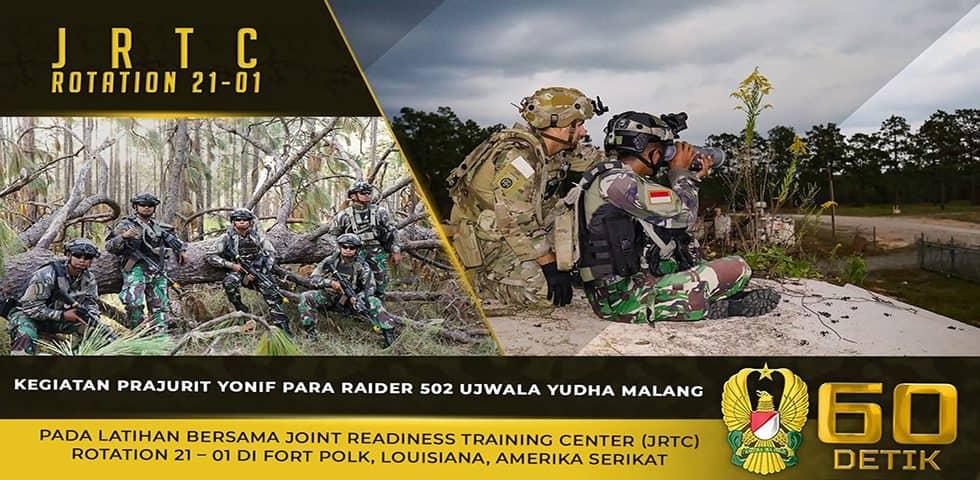 Latihan Bersama JRTC Rotation 21-01 di Fort Polk, Louisiana, Amerika Serikat