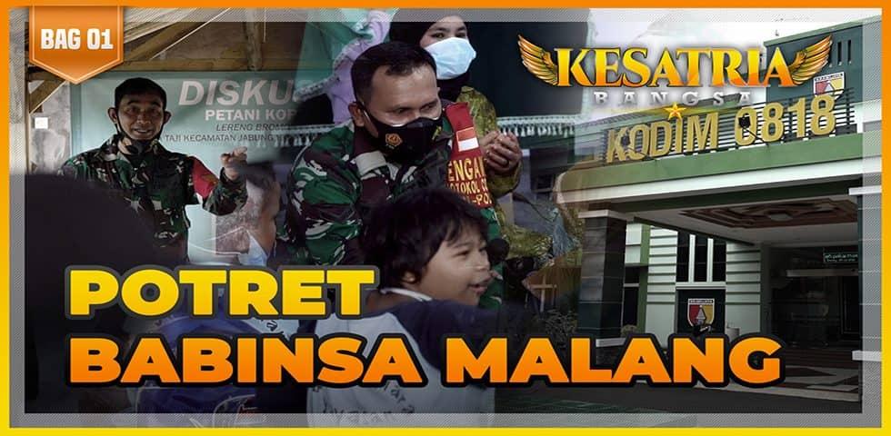 Potret Babinsa Malang | KESATRIA BANGSA Part. 1