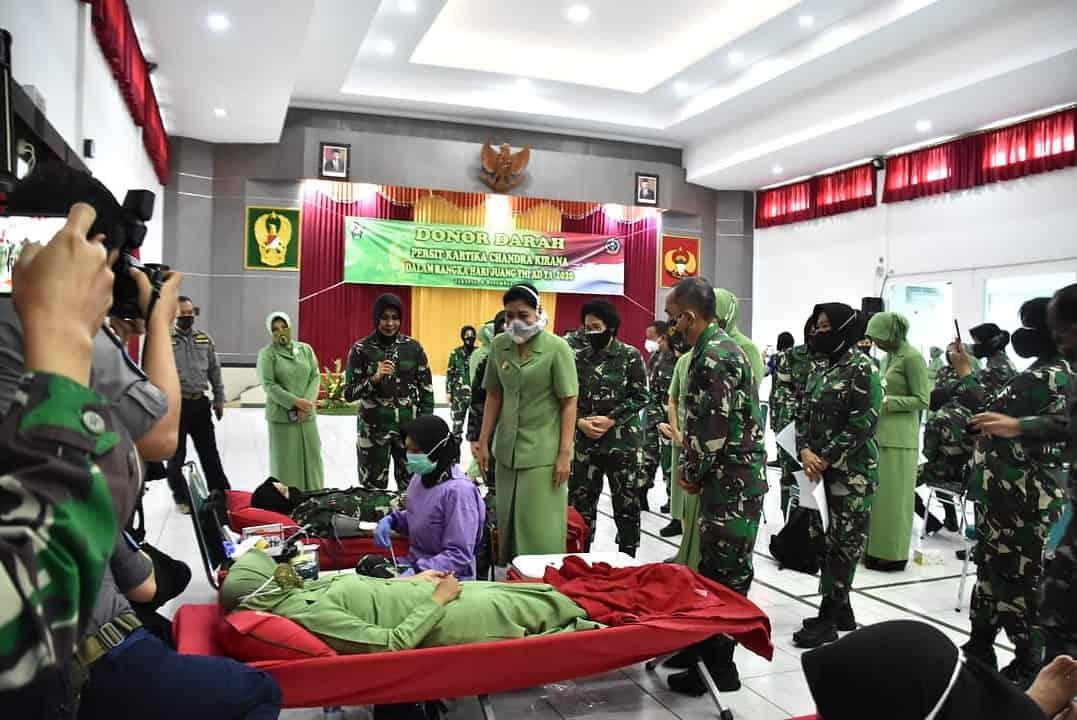Aksi Donor Darah Kowad Gartap I/Jakarta