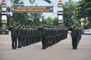 Kasad Lantik 583 Perwira Lulusan Diktukpasus TNI AD