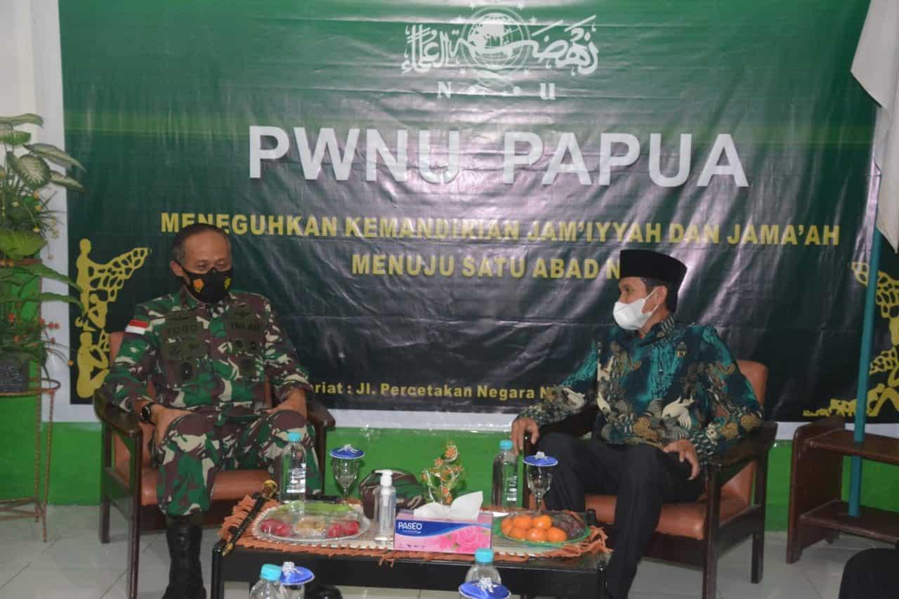 Wujudkan Papua Yang Aman Dan Damai, Pangdam XVII/Cenderawasih Kunjungi Para Tokoh Agama