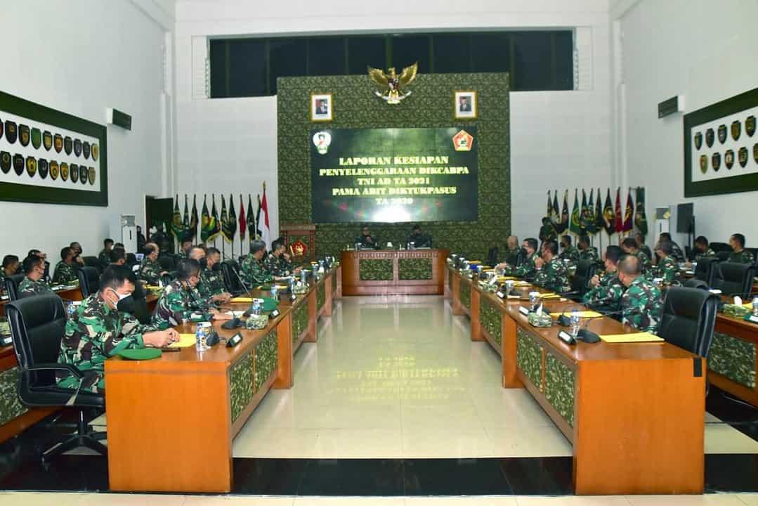 Penuhi Kebutuhan Perwira Berpengalaman, TNI AD Cetak Perwira Melalui Program Khusus