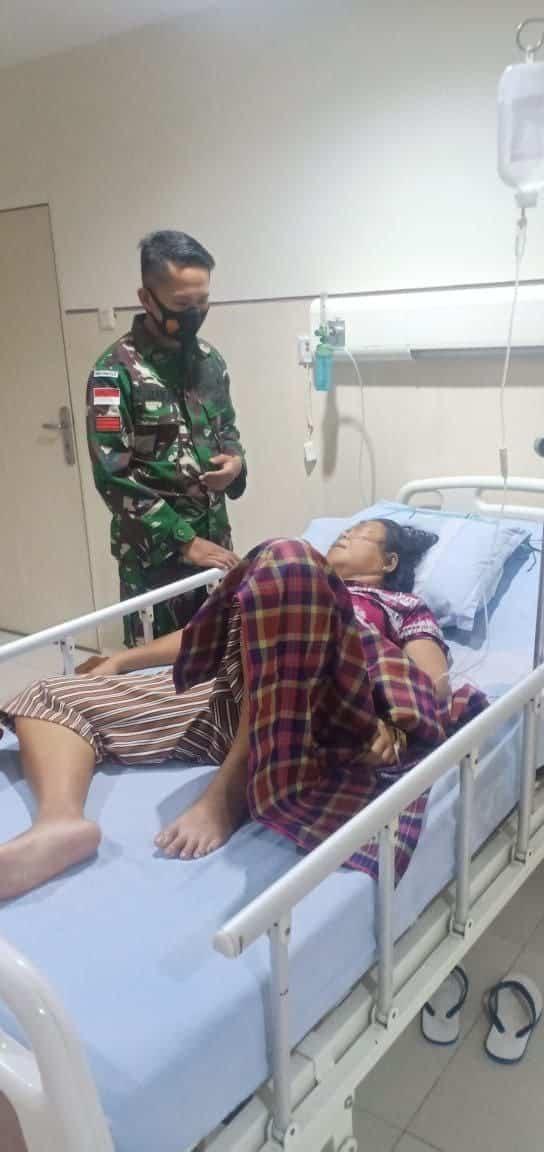 Peduli Sesama, Satgas Yonif RK 744/SYB Donorkan Darah Untuk Penderita Ginjal