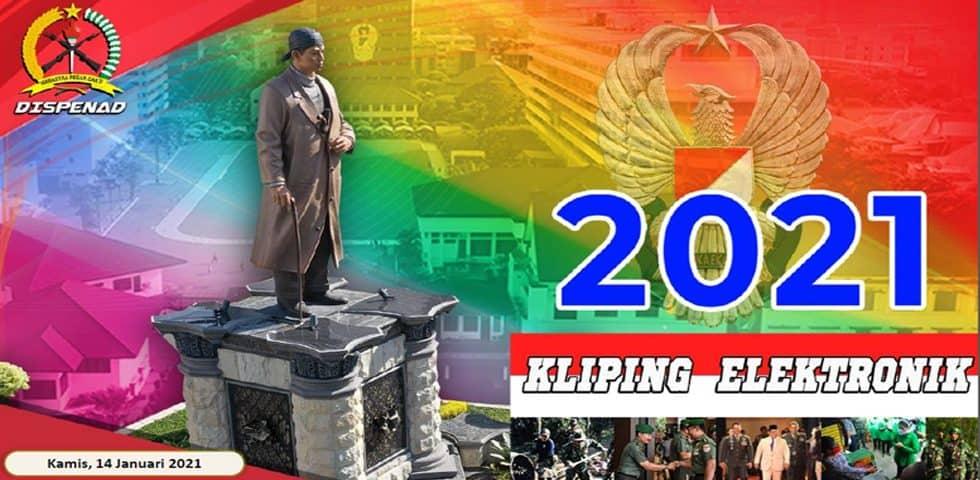 Kliping Elektronik Kamis, 14 Januari 2021