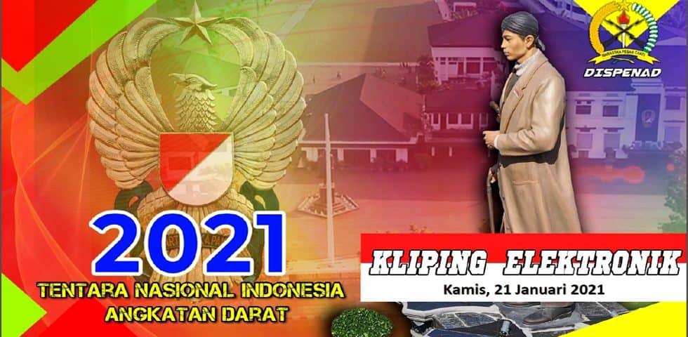 Kliping Elektronik Kamis, 21 Januari 2021